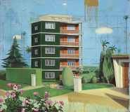 Matthias Weischer, Bulgarisches Haus via art gallery news