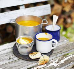 Dýňová polévka z Deníku Dity P. Soups, Cooking, Tableware, Kitchen, Food, Diet, Dinnerware, Tablewares, Eten