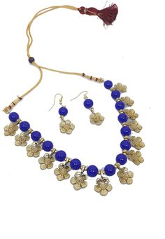 Shop Blue Alloy Austrian Diamond Necklace Set Earrings 199015 online from huge collection of indian ethnic jewellery at Indianclothstore.com. Ethnic Jewelry, Jewellery, Diamond Necklace Set, Indian Ethnic, Earring Set, Shop, Blue, Collection, Jewels