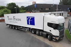 Look out for Troy Foods' new fleet delivering processed vegetables, dressed salads and mayonnaise around the country