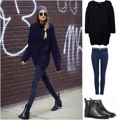 Get ready for autumn. Keep muted tones interesting by layering them up. This is a super chic weekend look.
