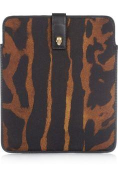 Alexander McQueen iPad case.