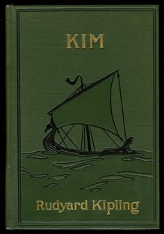 Front Cover from Kim . · Kipling, Rudyard, 1865-1936 · 1901 · Albert and Shirley Small Special Collections Library, University of Virginia.