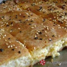 Σιμιγδαλένια τυρόπιτα με ζύμη κουρού συνταγή από ΣΕΦΙΤΣΑ - Cookpad