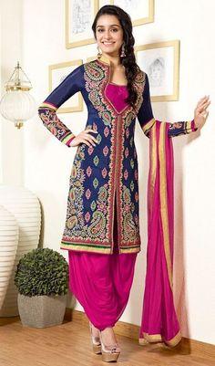 Salwar Suits for Women - Buy Ladies Designer Salwar Kameez Online Designer Salwar Kameez, Patiala Salwar Suits, Indian Salwar Kameez, Salwar Kameez Online, Churidar, Patiala Dress, Designer Anarkali, Anarkali Dress, Designer Gowns