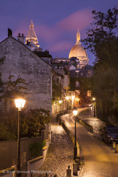 Montmartre, Paris France © Brian Jannsen Photography