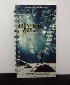 Recycled Notebook From A River Runs Through by AWRecycledJournals
