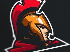 Spartan logo for Australian e-sports team