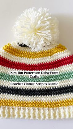 Crochet Kids Hats, Crochet Mittens, Crochet Beanie, Crochet Scarves, Crochet Crafts, Yarn Crafts, Crochet Clothes, Crochet Hooks, Crochet Daisy