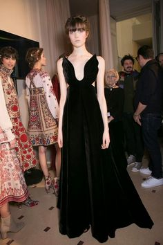 Cool Chic Style Fashion: Paris Fashion Week: Backstage at Valentino Haute Couture Spring 2015