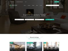 Directory – Real estate Free HTML Template is modern and clean suitable for listing any kind of local and international activity, whether it's a Real estate, Cars, Travel, Auto Cars, Auto Showrooms restaurant, an event, a candidate, a vacancy or even a multiple companies. It is compatible with all modern mobile devices.