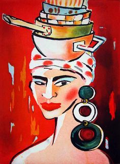 Elvira Bach, Collage, Art Forms, Art Pictures, Abstract, Artwork, Painting, Women, Germany