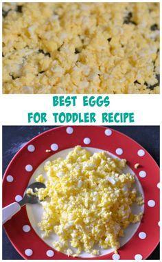 best eggs for toddler recipe