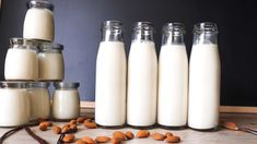 @bridgetbeguin posted to Instagram: #almondmilk #nutmilk #veganmilk #paleo #lactosefree #dairyfree #plantbased #paleolifestyle #cleaneating #veganfood #paleorecipes