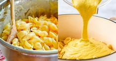 Těstoviny představila světu slunná Itálie a brzy se staly celosvětově oblíbeným pokrmem. Slouží nejen jako zavářka do polévek a příloha krůzným druhům mas, ale lidé je mají rádi i samotné, jako nedílnou součást hlavního jídla. A aby byl požitek ztěstovin dokonalý, kromě výběru toho pravého druhu těstovin vprvotřídní kvalitě je samozřejmě nesmírně důležitá také chutná omáčka vyrobená ztěch nejlepších surovin. Dnes pro vás máme recept na vynikající sýrovou omáčku, která se znamenitě hodí… Macaroni And Cheese, Ethnic Recipes, Food, Mac And Cheese, Eten, Meals, Diet
