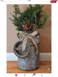 38 Marvelous Rustic Farmhouse Christmas Decor Ideas, Bring The Natural Festive T. : 38 Marvelous Rustic Farmhouse Christmas Decor Ideas, Bring The Natural Festive T. Farmhouse Christmas Decor, Outdoor Christmas, Winter Christmas, Christmas Home, Winter Porch, Christmas Entryway, Christmas Ideas, Simple Christmas, Homemade Christmas