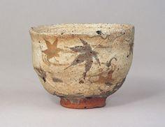 石水博物館|粉引茶碗 銘「たつた川」