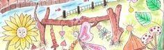 """Am Fluss – mit """"Wasser""""-Farben"""
