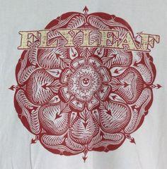 Youth XL Flyleaf T-Shirt 2013 Tour Concert Band Tee Mandala Boy Girl (Mens S) #Flyleaf #BandTee #mandala
