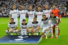(Top L-R) Tottenham Hotspur's English defender Eric Dier, Tottenham Hotspur's English midfielder Dele Alli, Tottenham Hotspur's Belgian defender Toby Alderweireld, Tottenham Hotspur's South Korean striker Son Heung-Min, Tottenham