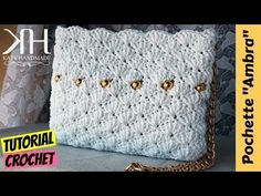 "Tutorial pochette ""Ambra"" uncinetto 