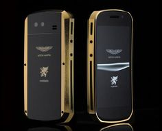 Mobiado have collaborated with Aston Martin to create the Grand Touch Aston Martin Phone. Crafted out of solid aircraft aluminum, this touchscreen phone has a CNC machined body and sleek lines and curves reminiscent of Aston Martin automobiles. This Mobiado is available in five different engineering styles, which includes two models with gold and ebony wood.