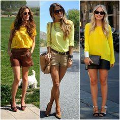 Armário Atual: Camisa amarela!