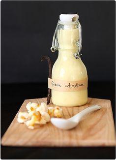 Crema inglesa con vainilla en rama