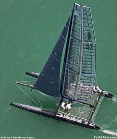 AC45 Mini America's Cup Boat 2011