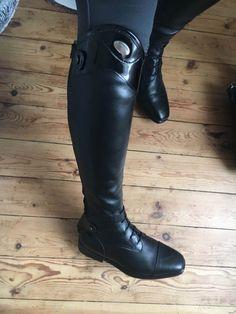 Tucci Dressage RODOLFO B Tall boot in black patent leather