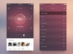 In this collection we have gathered 30 stunning radio apps UI design for inspiration. Use these radio apps ui design for inspiration on parts of your mobile ui app design. Gui Interface, User Interface Design, Ui Kit, Web Design, Graphic Design, Creative Design, App Widget, Radios, Pub Radio