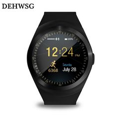 >> Click to Buy << DEHWSG Bluetooth smart watch Y1 Reloj Relogios Passometer Support 2G GSM SIM Whatsapp Facebook Smartwatch For IOS Android phone #Affiliate