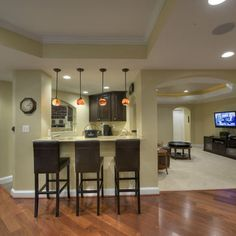 Basement Kitchen Ideas Design, Pictures, Remodel, Decor and Ideas - page 3
