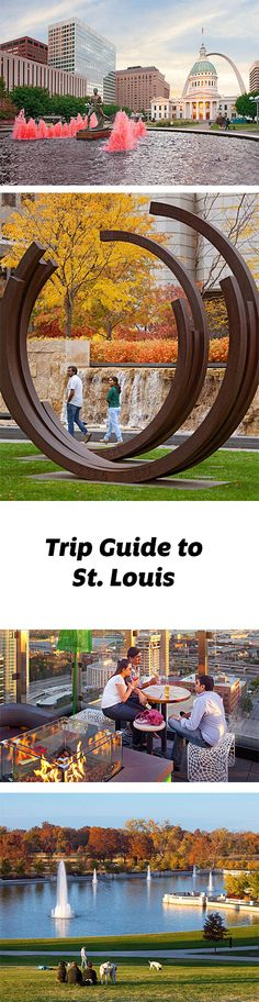 From the famous Arch to the (free) museums of Forest Park, St. Louis proves it's a wow-worthy destination. Trip guide: http://www.midwestliving.com/travel/missouri/st-louis/st-louis-trip-guide/