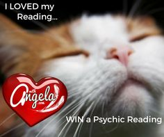 "Join us for our 'Be your own authentic Valentine"" give away! Enter to win a 40 minute Psychic Intuitive Reading with Angela. Draw days Feb15,2017"