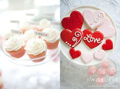 valentine's inspired - stylized shoot designed + produced by @Petite Pearl Events.