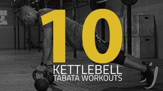 There's 10 Kettlebell Tabata Workouts in this post that include some staple kettlebell exercises and other creative variations. Interval timers included.