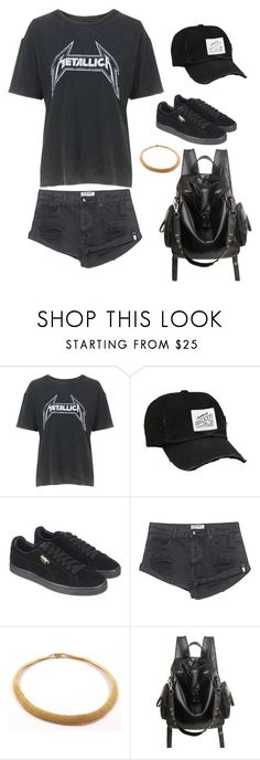 """""""Untitled #381"""" by guls ❤ liked on Polyvore featuring Topshop, Puma, OneTeaspoon and Tiffany & Co."""