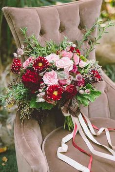 18 Bohemian Wedding Bouquets That Are Totally Chic ❤ See more: http://www.weddingforward.com/bohemian-wedding-bouquets/ #weddings #bouquets