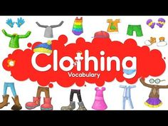 Learn Clothes Vocabulary | Talking Flashcards - YouTube