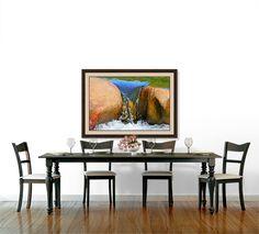 North Carolina Stream Framed Art