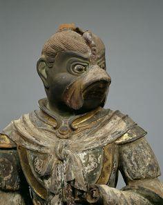 国宝 迦楼羅像 734年 撮影:金井杜道 (c)興福寺