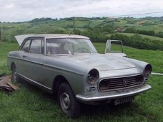 This is one of mine (the first), just out of the barn. Peugeot 404, Barn, Cutaway, Converted Barn, Barns, Shed, Sheds