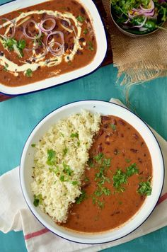 Punjabi rajma recipe- rich red kidney beans curry – The Veggie Indian