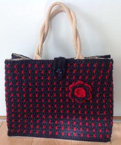 Zeeman knutselplatform Granny Square Bag, Beauty Recipe, Diy Beauty, Michael Kors Jet Set, Jute, Purses And Bags, Shoulder Bag, Tote Bag, Knitting
