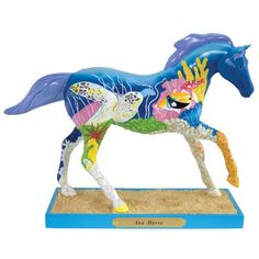 Trail of Painted Ponies Sea Horse Figurine