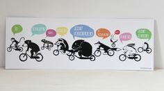 """""""i want to ride my bicycle- i want to ride my bike- i want to ride my bicycle- i want to ride it where i like!""""  Fahrräder sind das beste Fortbewegungsmittel aller Zeiten! Das finden zumindest..."""