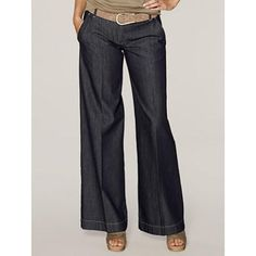 Organic Cotton Jeans.......love me some dressy jeans!