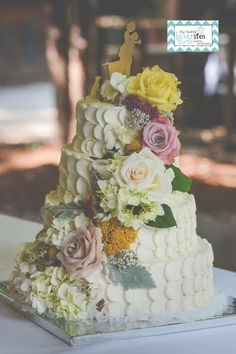 Wedding Cake Greenville SC Www.mysweetfavorites.com