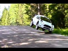 Ott Tanak Rally Finland 2015 Test - YouTube